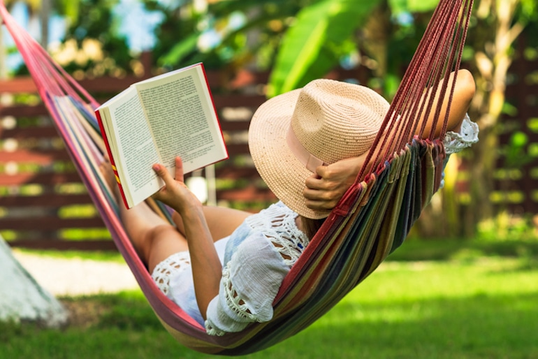 Practice good tech hygiene by reading books, enjoying the outdoors, and getting off the internet