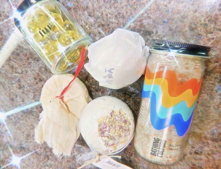 Bath accessories from Garrett Munce