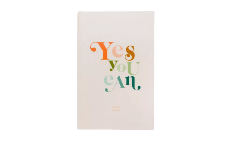 Rachel Hollis Yes You Can Journal - one of the best self-care planners to gift