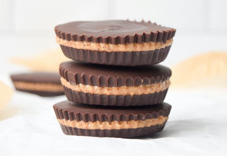 Dark Chocolate Almond Butter Cup Recipe