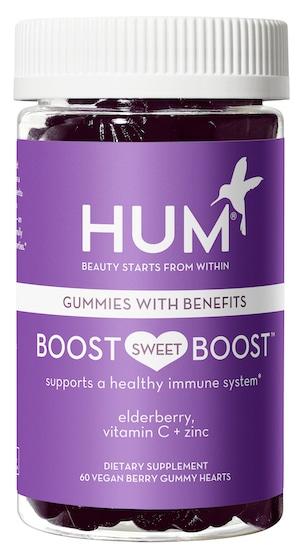 Boost Sweet Boost Immunity Gummies with vitamin C, zinc, and elderberry