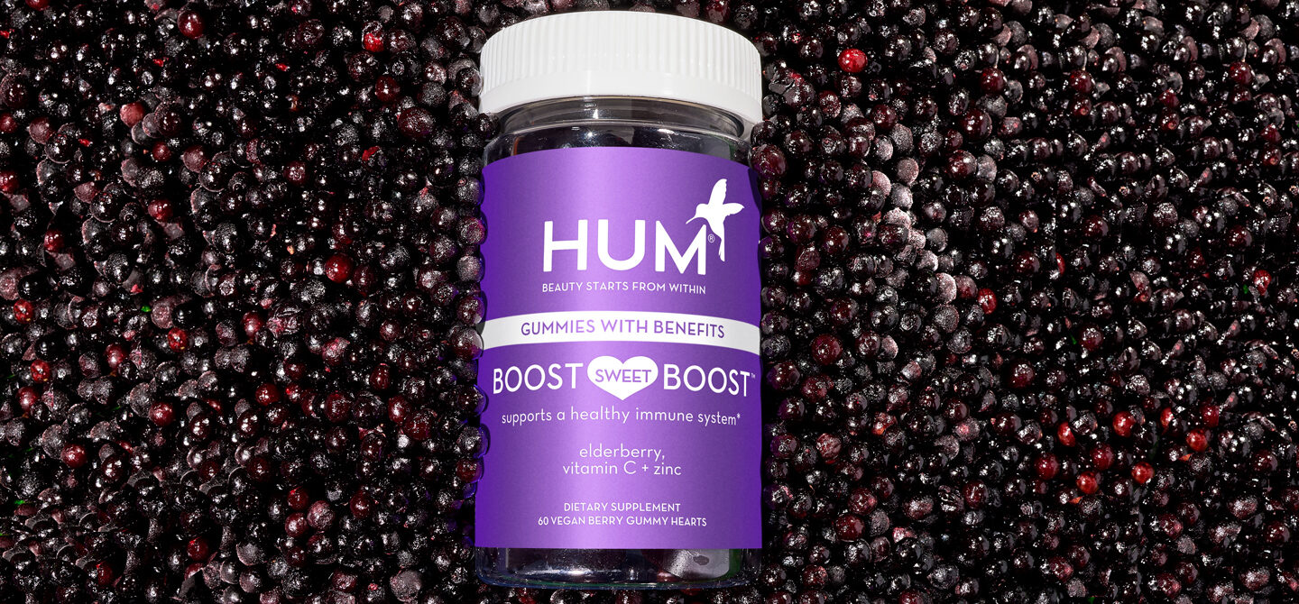 Immunity supplement with elderberry to help build microhabits for immune system